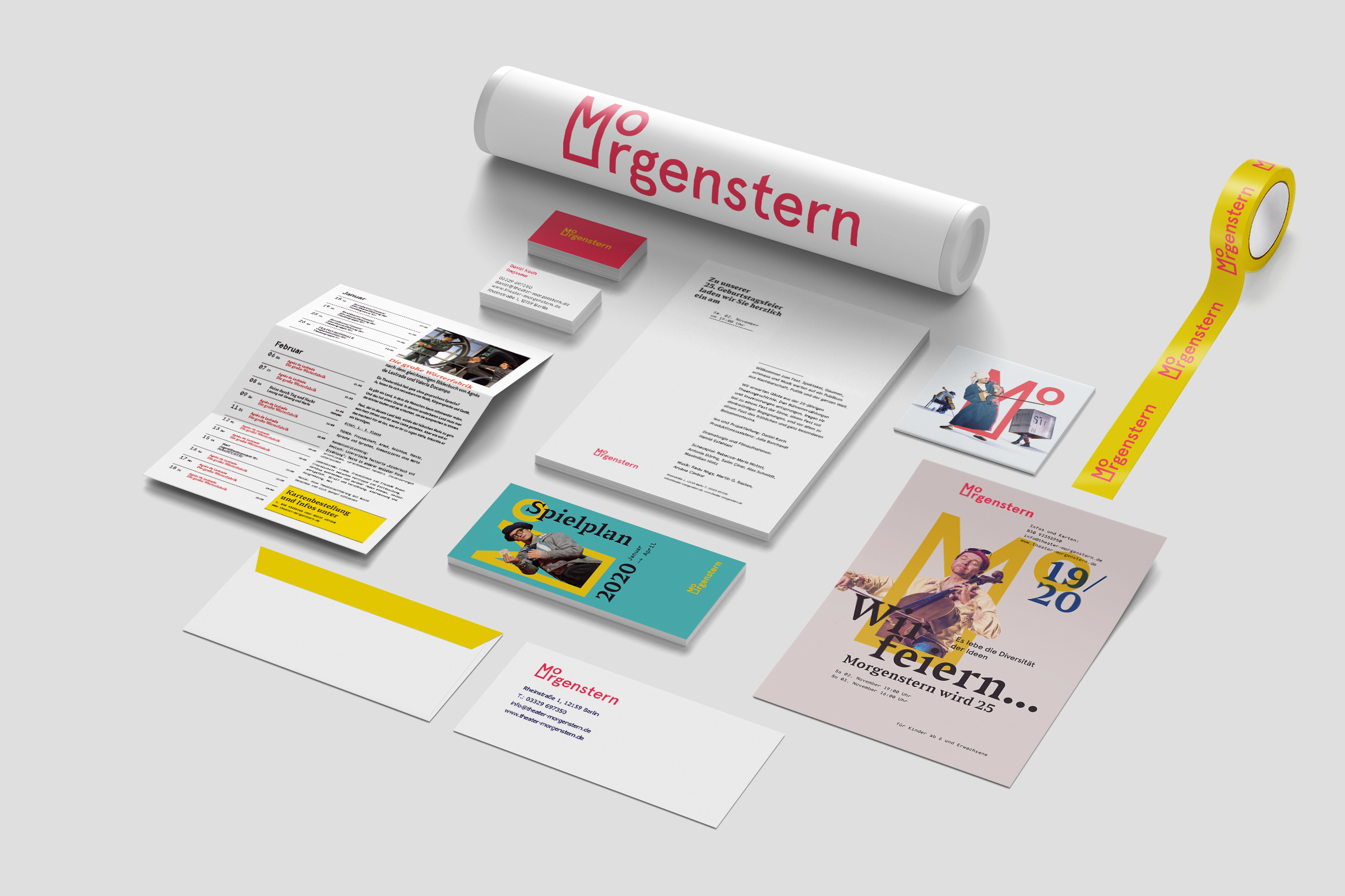 Branding Morgenstern Theatre