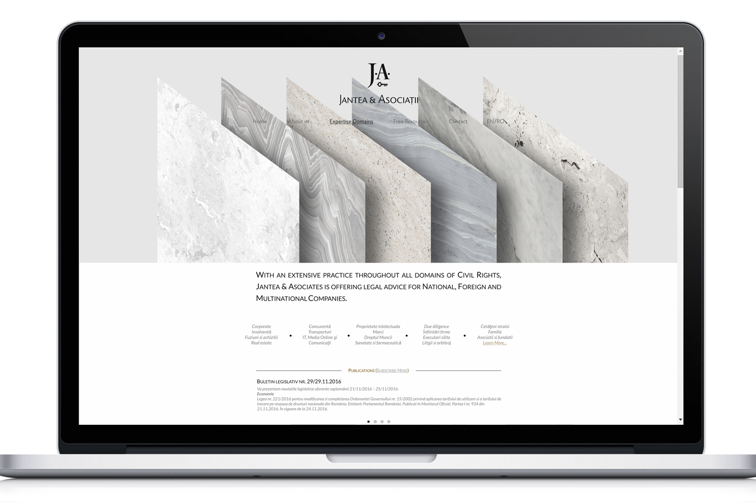 JA – 10 – website